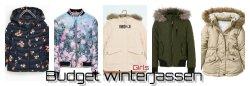 Budget winterjassen voor meisjes