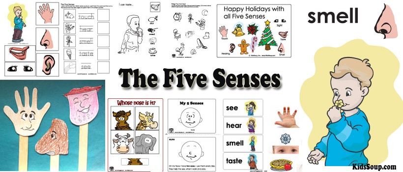 Week 1 Holidays And The Five Senses Theme Senses KidsSoup