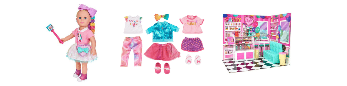 New My Life as Jojo Doll Clothing Set My Life as Jojo Candy Shop Play Set