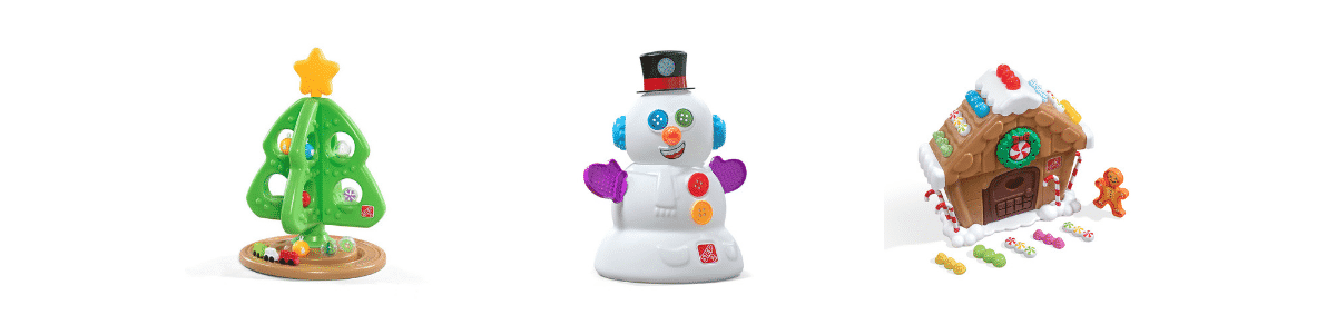 Where to find Step2 My First Snowman in stock. Where to find Step 2 My First Christmas Tree in stock, Where to find Step2 My first gingerbread house in stock. Newest Holiday Toys of 2018