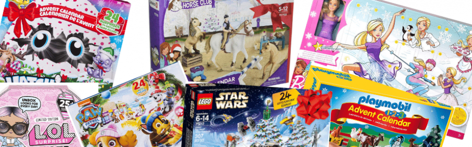 2018 Best Toy Advent Calendars