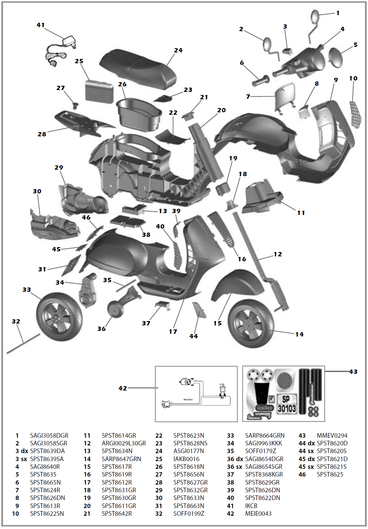 Wiring Diagram For Electric Scooters