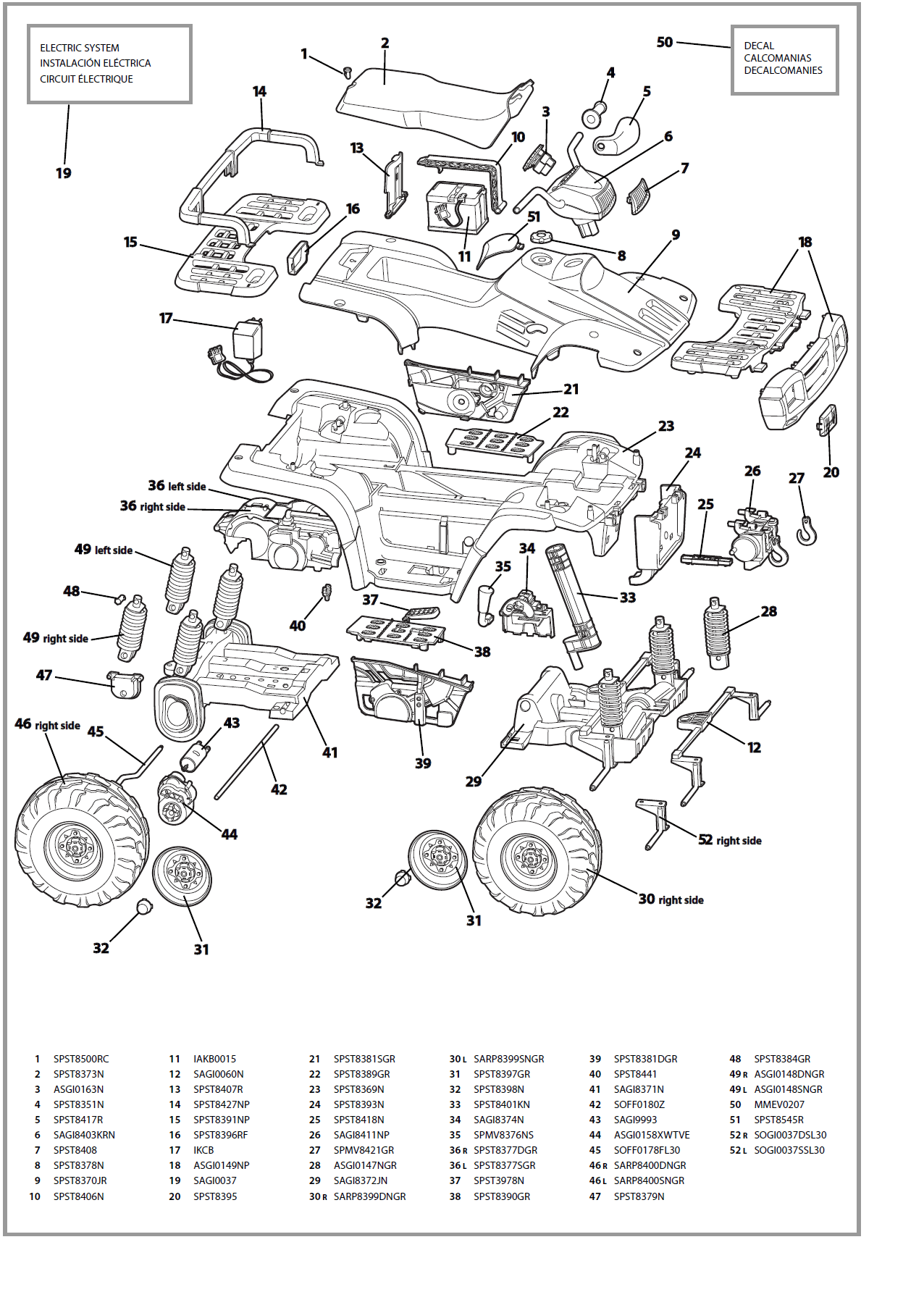 Polaris Sportsman 800 Wiring Diagram Parts Wiring
