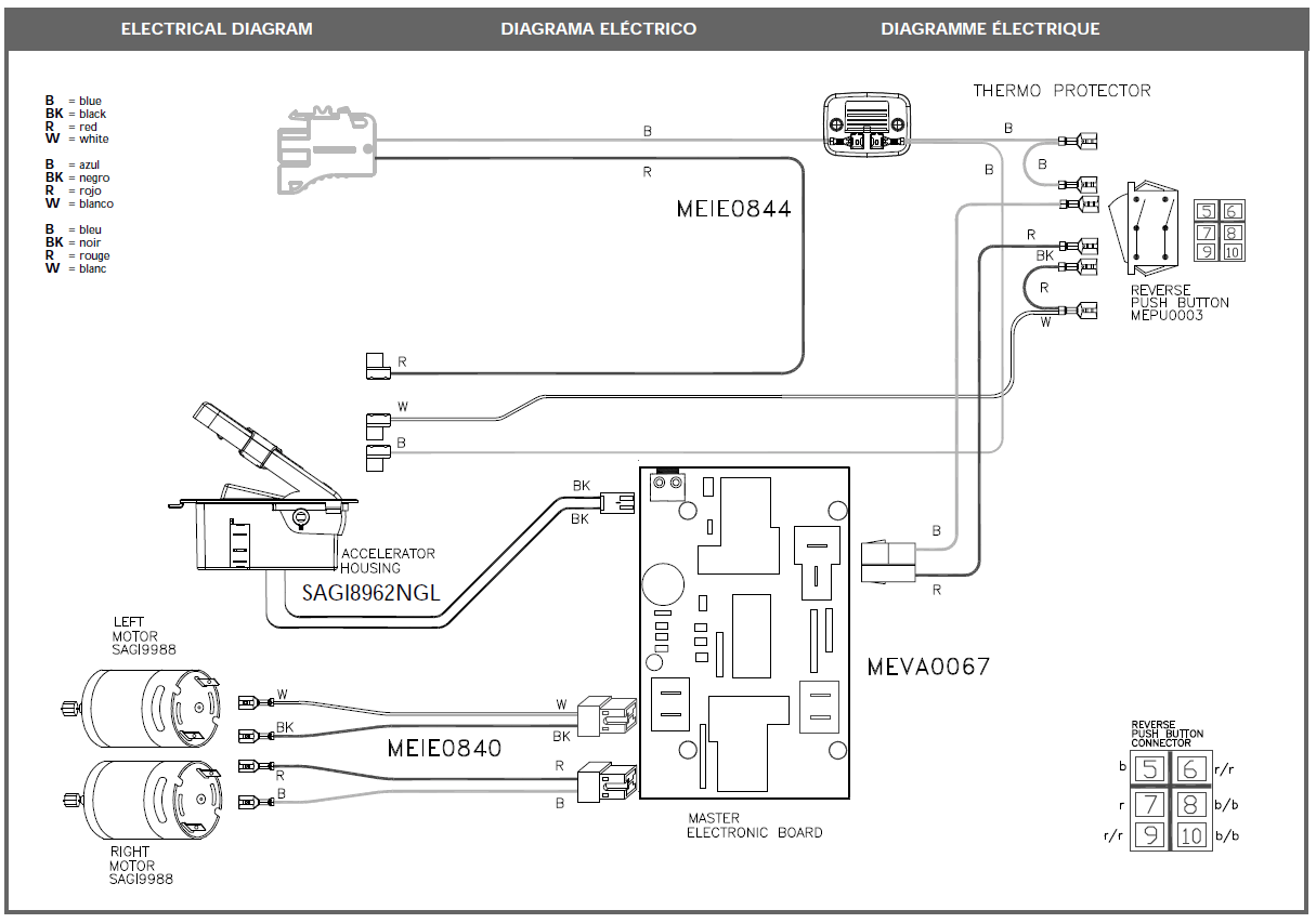 Power Wheel Wiring Harness Diagram For Jeep