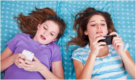 texting and children