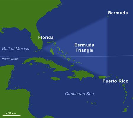 Bermuda Triangle, Atlantic Ocean