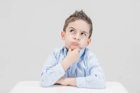 Boy thinking - Memorization Techniques