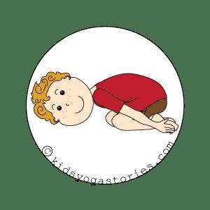 Child's Pose for Kids - Kids Yoga Stories