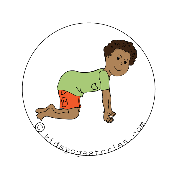 Cow Pose for Kids - Kids Yoga Stories
