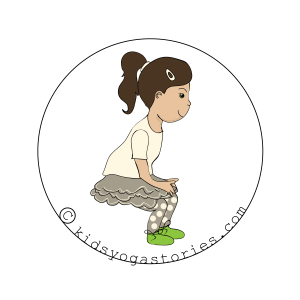 Downhill Skier Pose for kids | Kids Yoga Stories