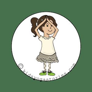 Extended Mountain Pose Kids Yoga