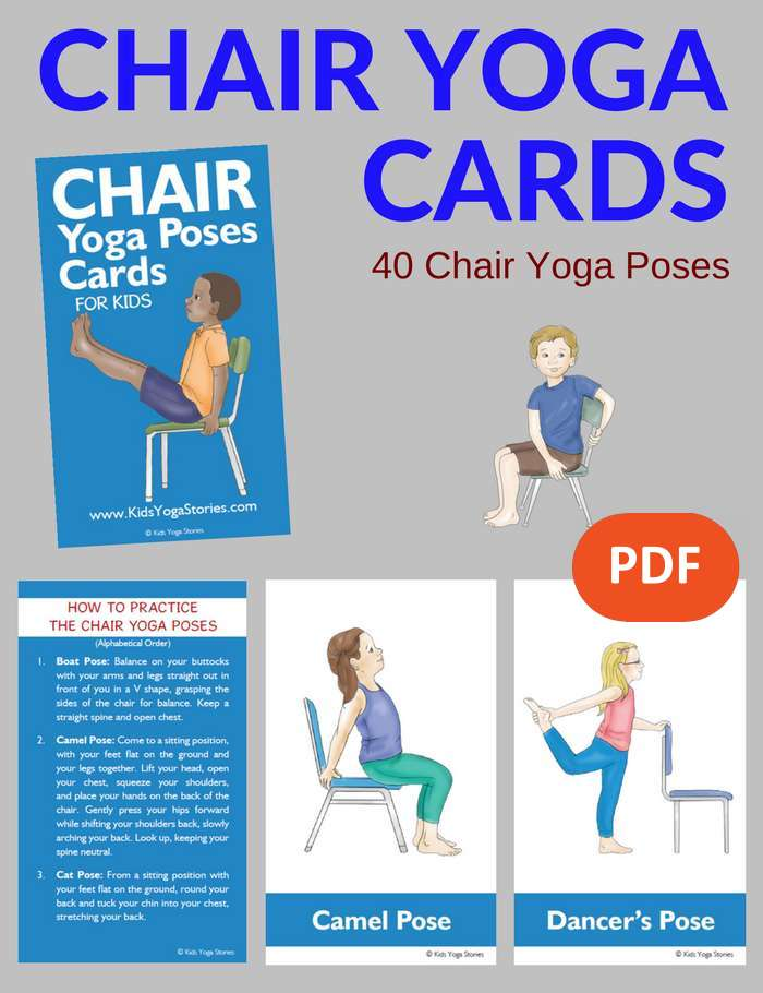 Canny image throughout printable chair yoga poses pdf