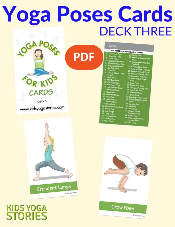 photo relating to Kids Yoga Poses Printable referred to as No cost Yoga Poses Playing cards
