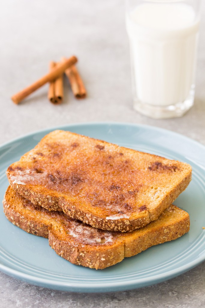 How to make easy cinnamon toast.