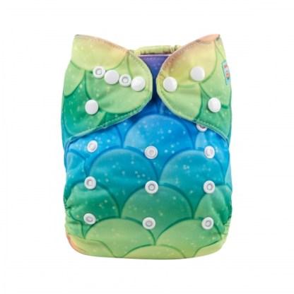 Alvababy Reusable Cloth Pocket Nappy Mermaid