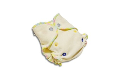 Bamboo Fitted Nappy with Snaps