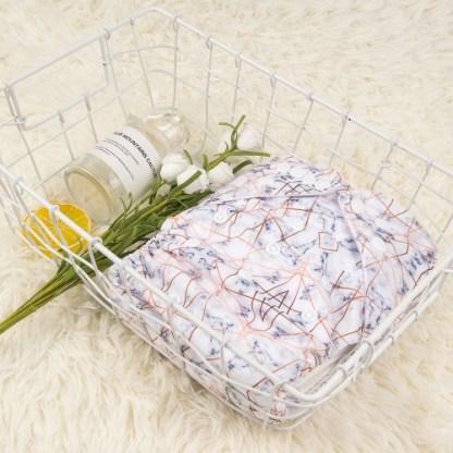 Alvababy Reusable Cloth Pocket Nappy Marble