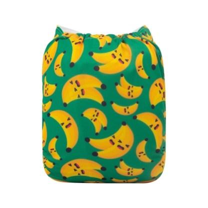 Reusable Cloth Pocket Nappy Bananas