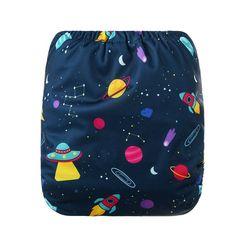BellsBumz AIO Reusable Cloth Nappy Space