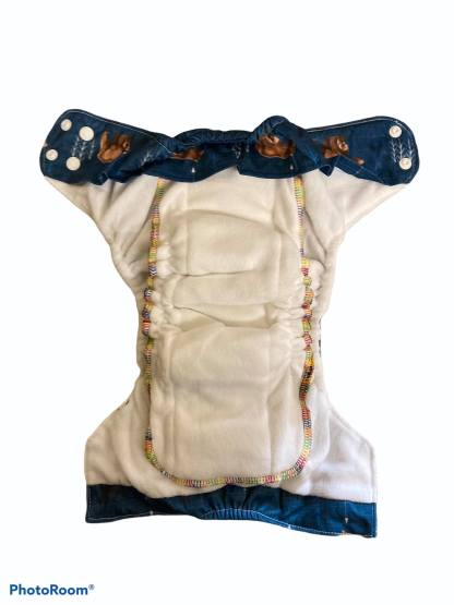Bells Bumz Reusable CLoth Nappy