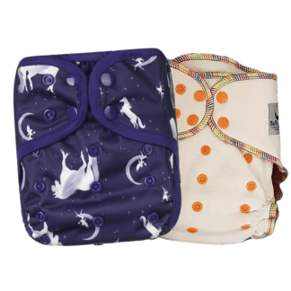 Bells Bumz Reusable Cloth Nappies Night Nappy BellsBumz