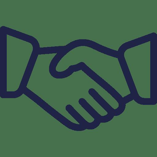 CGU Kidways - Relation de confiance entre les clients et kidways - poignée de main