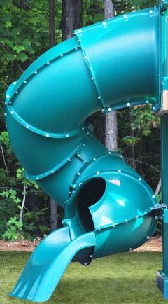 5 Ft Turbo Tube Slide Multiple Colors