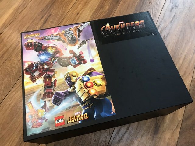 LEGO Brick Headz Marvel Avengers Infinity War