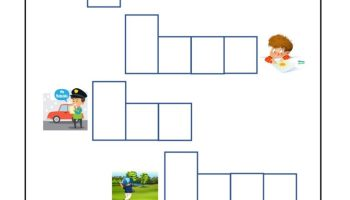 aw word family word shapes worksheet