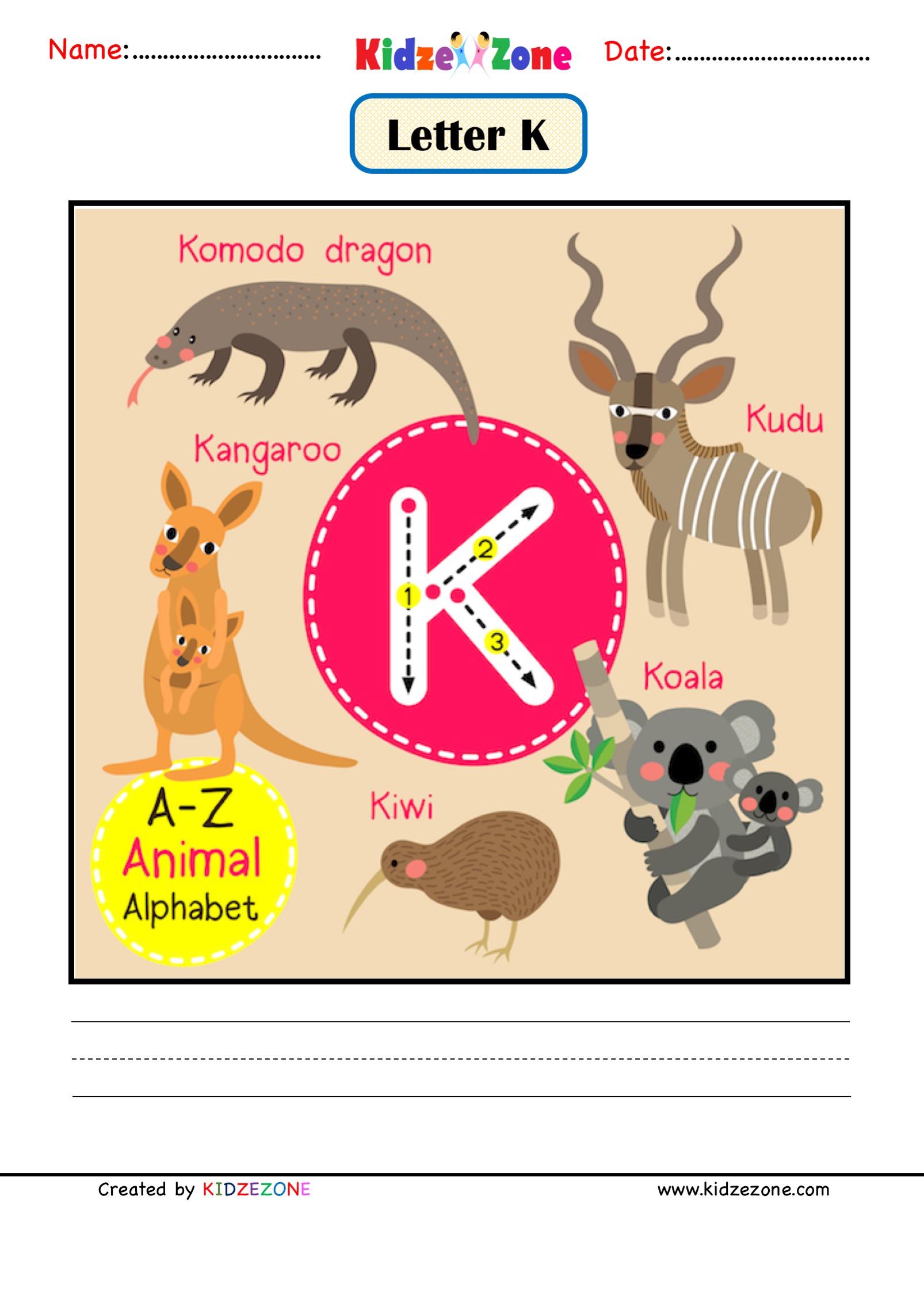 Kindergarten Letter D Worksheets