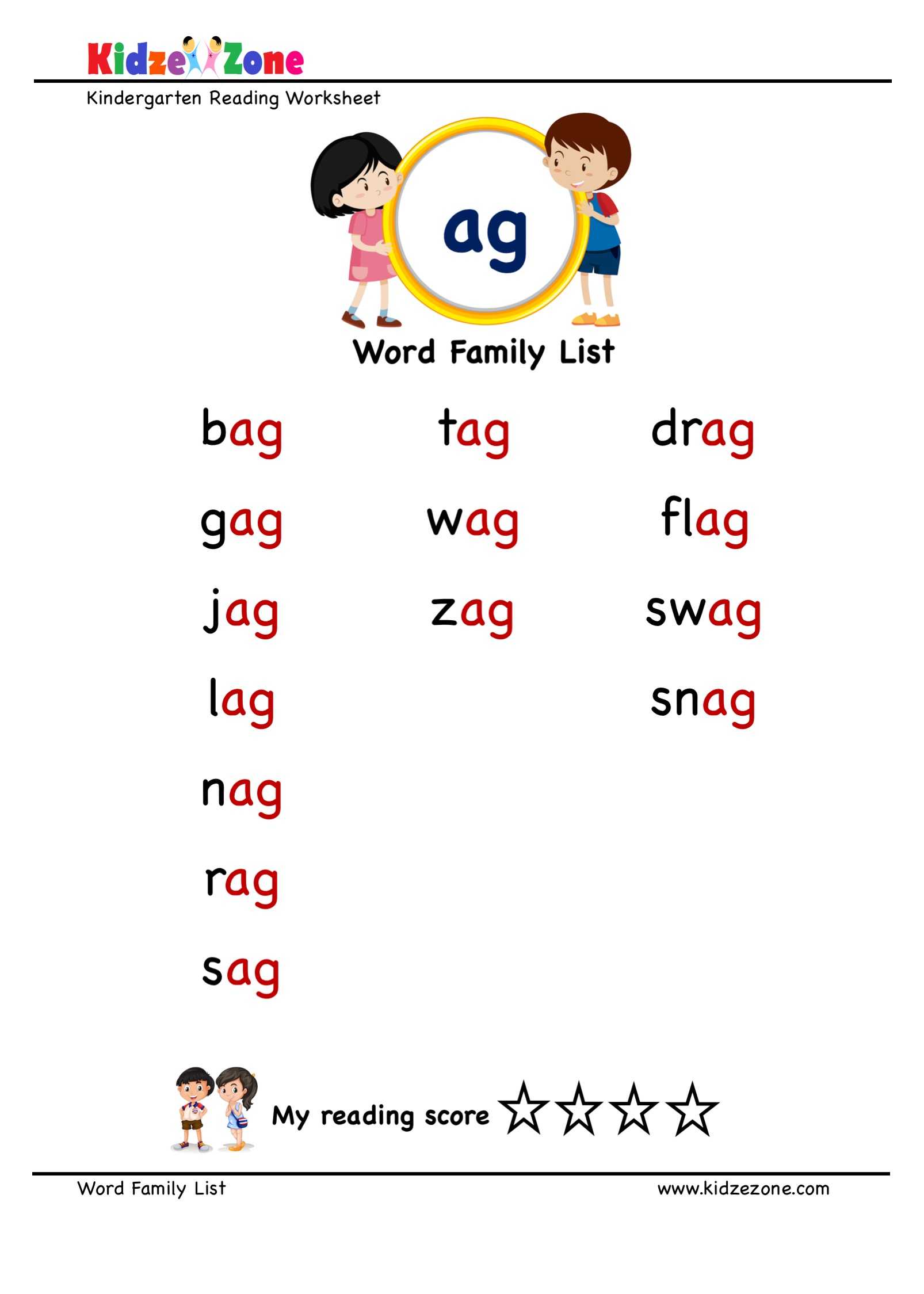 Explore And Learn Words From Ag Word Family With Word