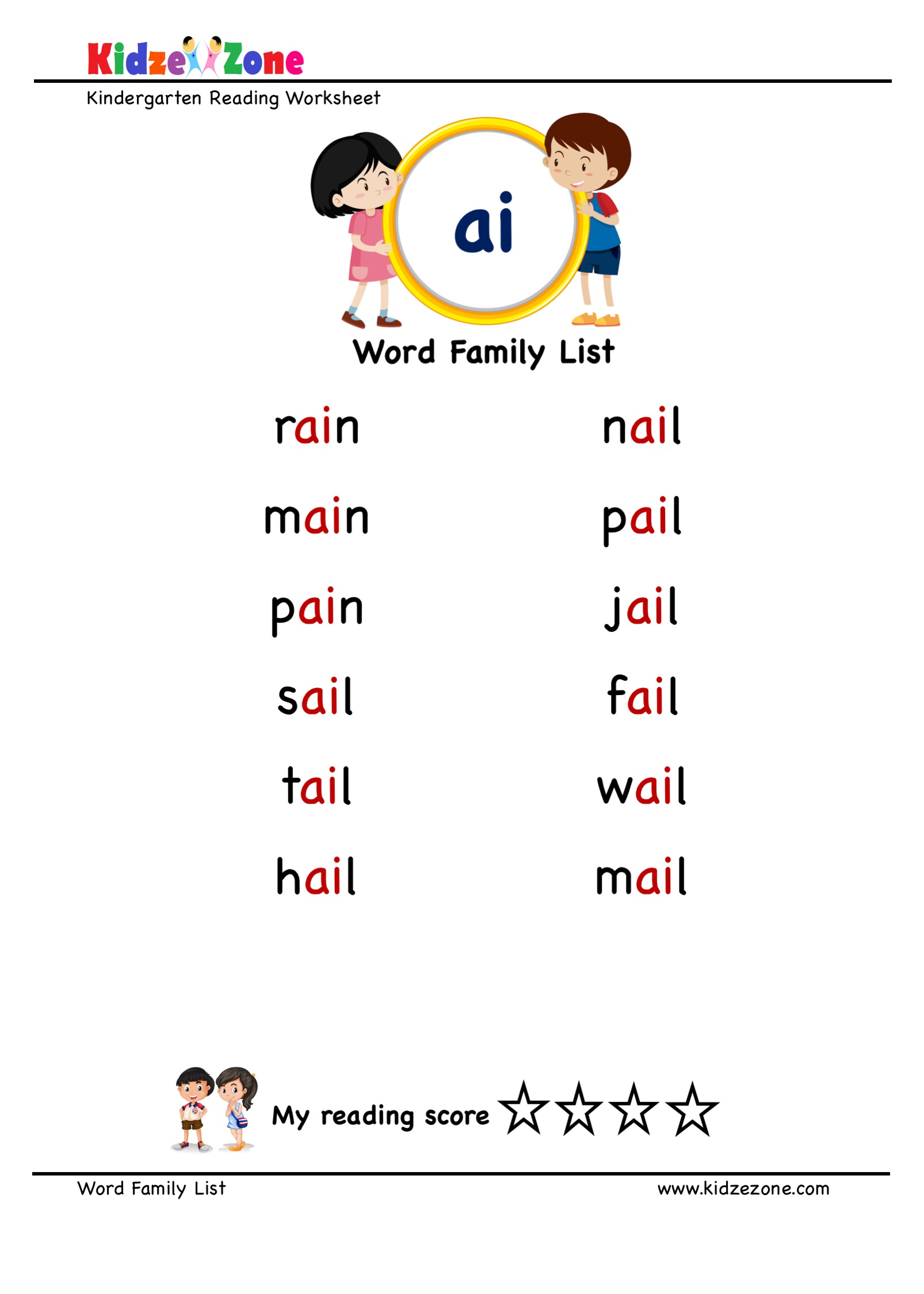 Explore And Learn Words From Ai Word Family With Word
