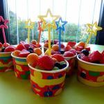 Kita Kinder Obstbecher - Kita Kid Zone Ernte-Dank-Woche