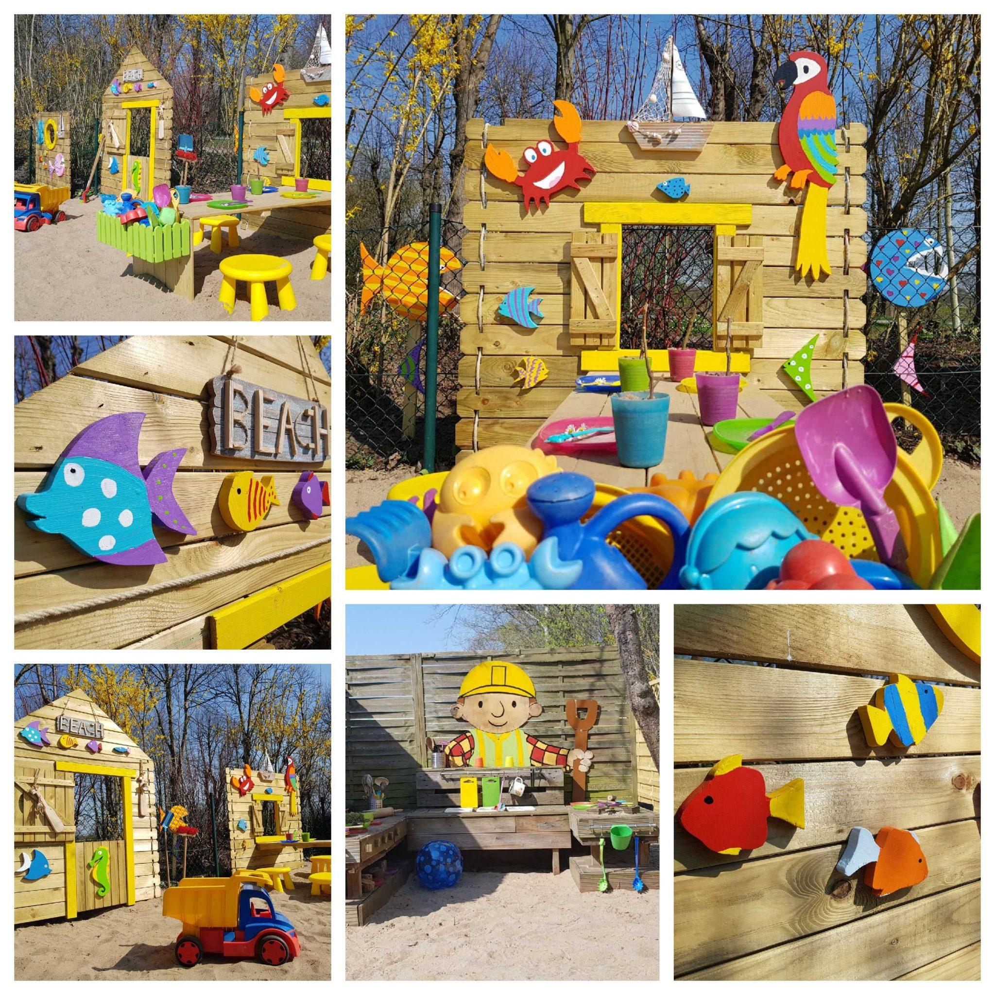 Kid Zone Erlebnisgarten mit Kinderbeachclub