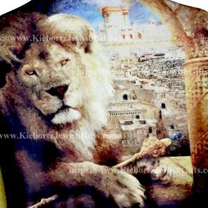 Jewish Tribe Lion Judah Prayer Shawl Scarf