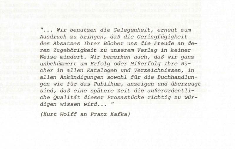 Zitate Von Kafka Franz
