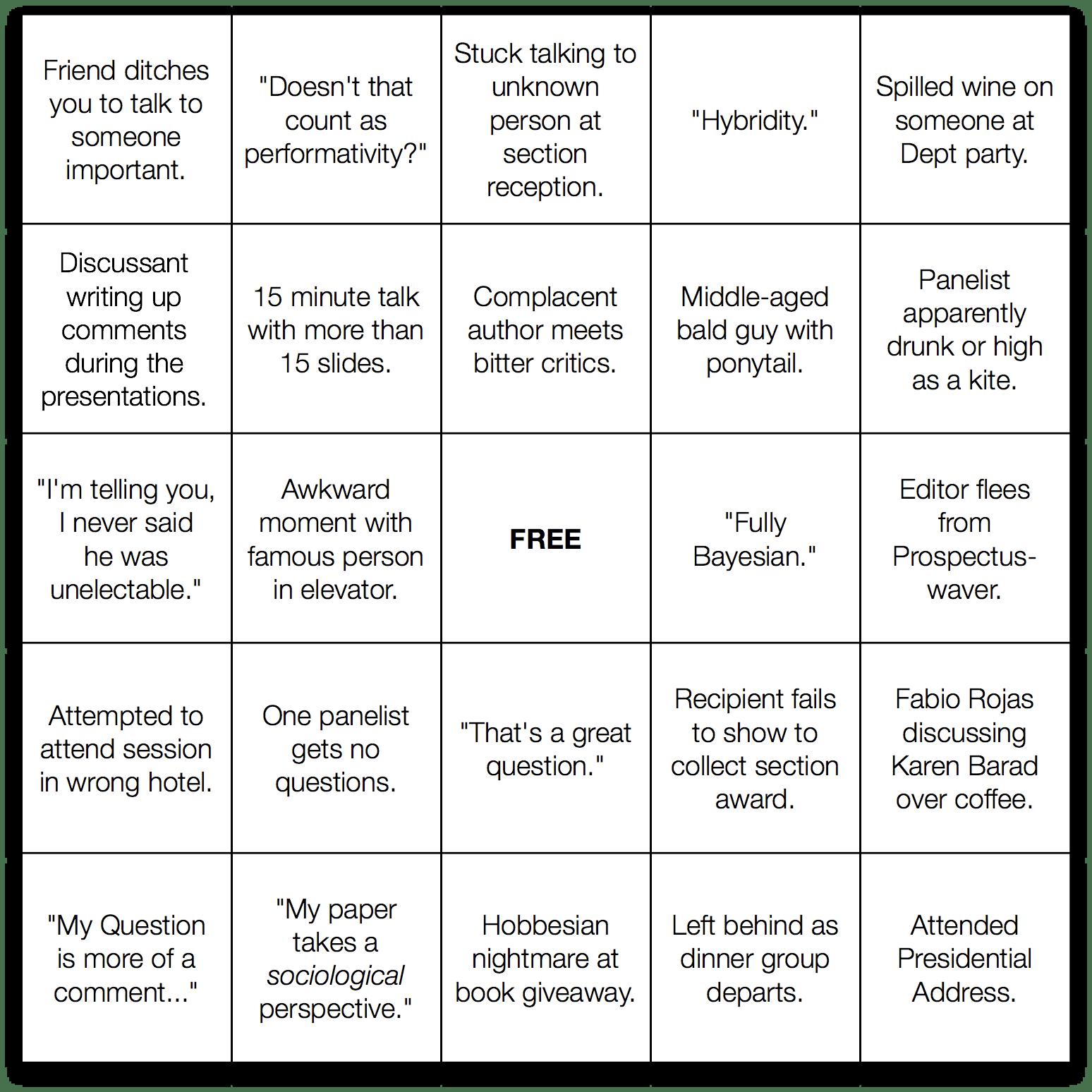 ASA Bingo 2009