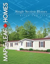 Single Section Brochure Cover