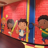 Hands on History Room Wall Graphics