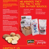 Produce Flyer English, Back
