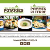Table Potatoes Trade Show Booth