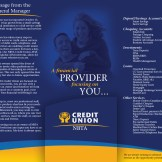 Tri-Fold Brochure Interior w/Pocket