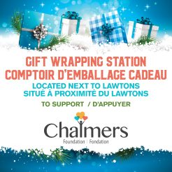 Chalmers Gift Wrap Floor Graphic