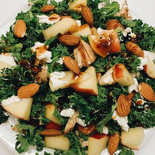 Apple Kale Salad Recipe