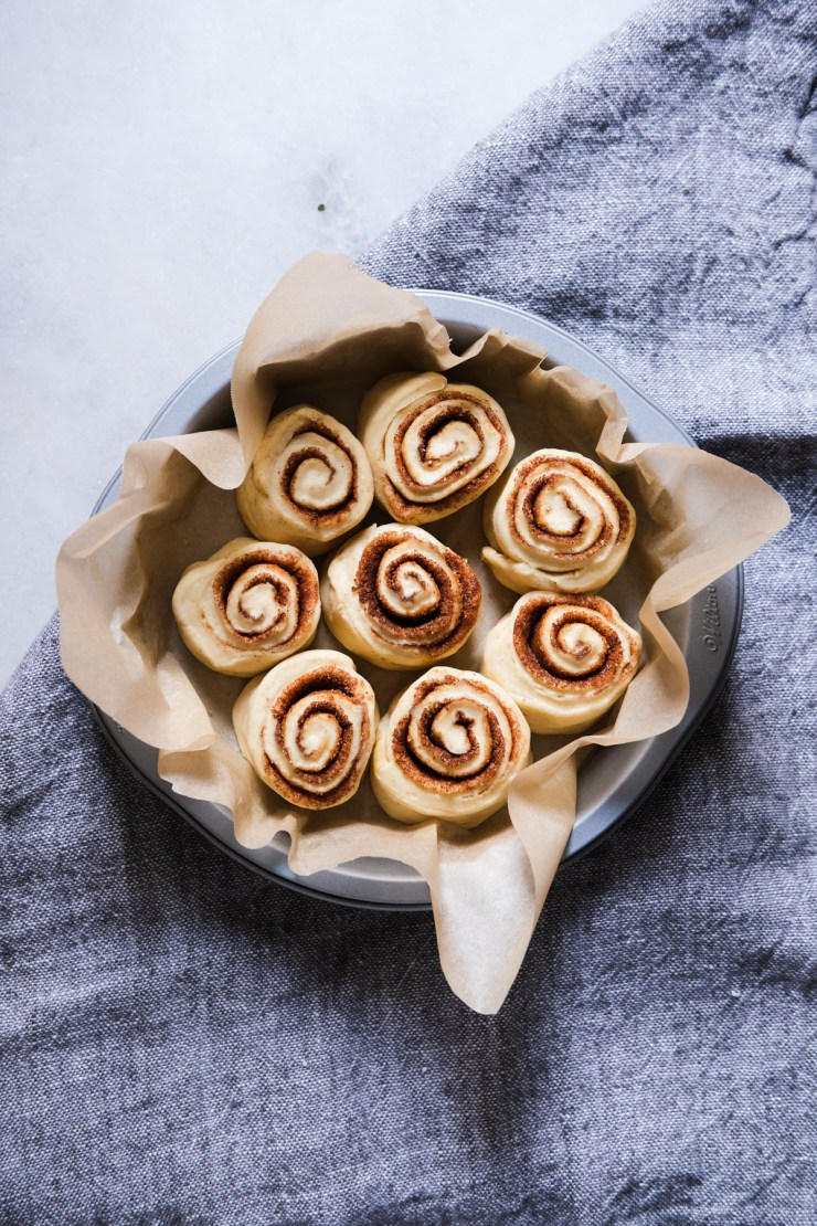 sourdough cinnamon rolls pre bake