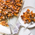 chicken sausage sweet potato bake