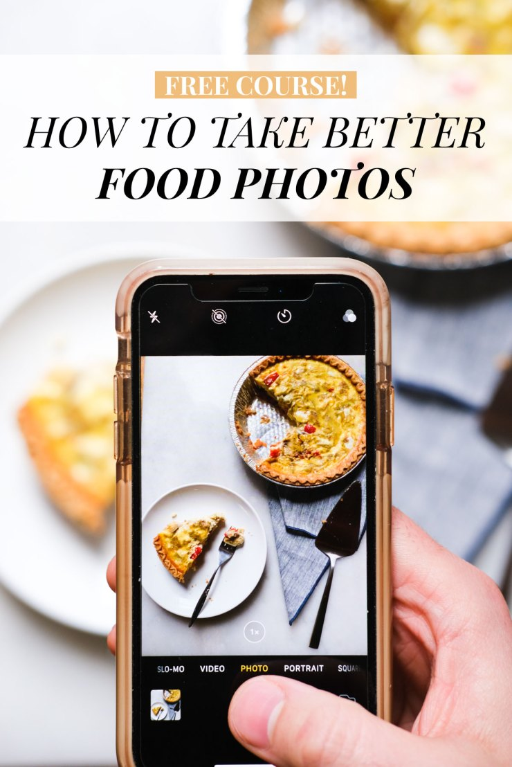 free photo course how to take better food photos
