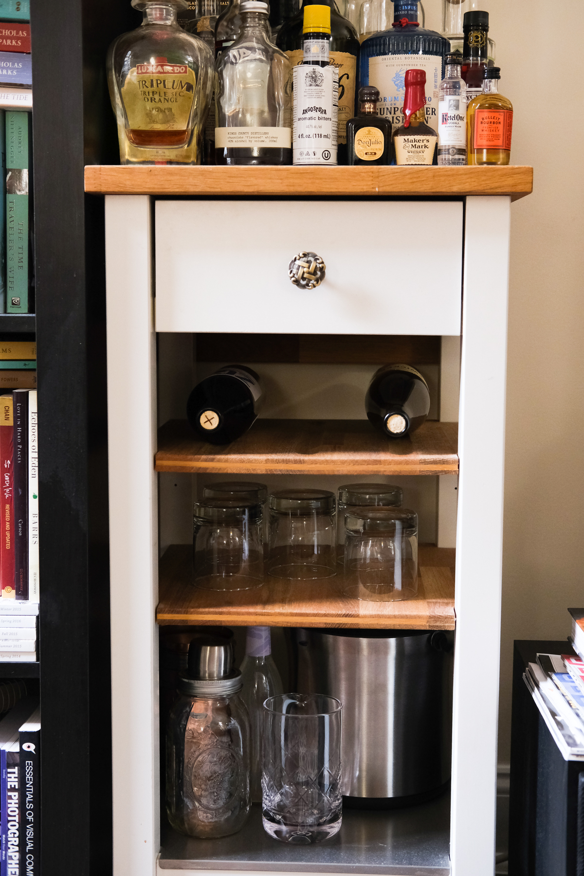 bar cart for at home bar
