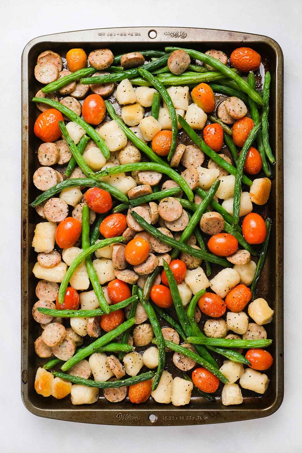 gnocchi sheet pan dinner