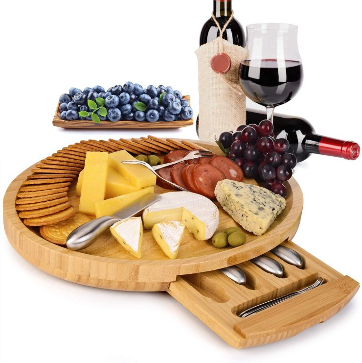portable cheese board